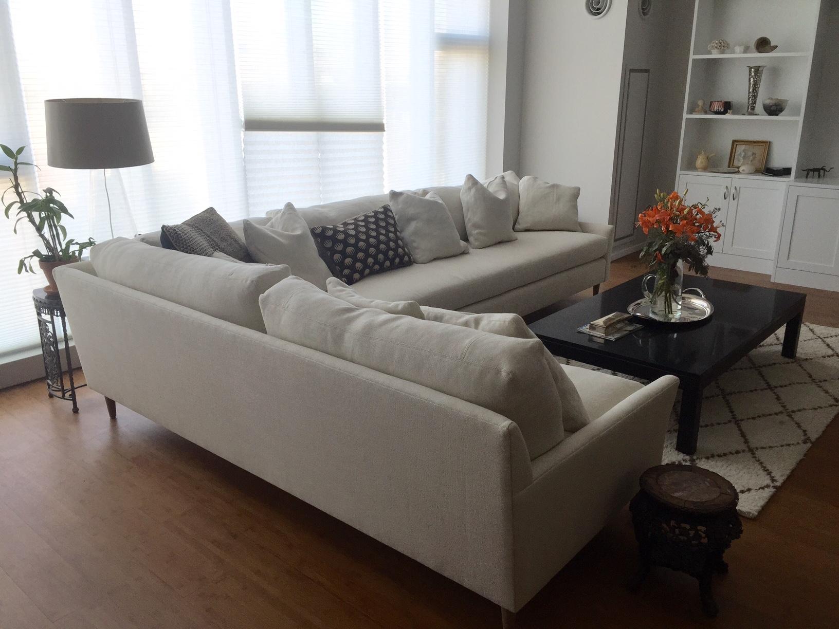 Blanche Sectional Sofa Verellen Fb Uph